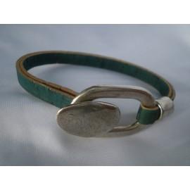 Bracelet li ge fermoir bouton et boucle peau de li ge - Bouton de liege ...